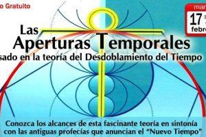 Seminario virtual gratuito:  Las Aperturas Temporales ~ Febrero del 2015
