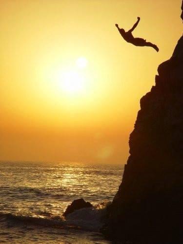 salto al mar