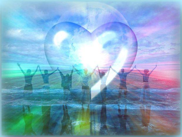 corazon y almas de luz