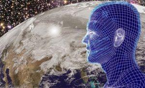 hombre virtual