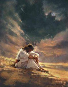 jesus desierto