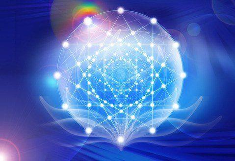 red de triángulos