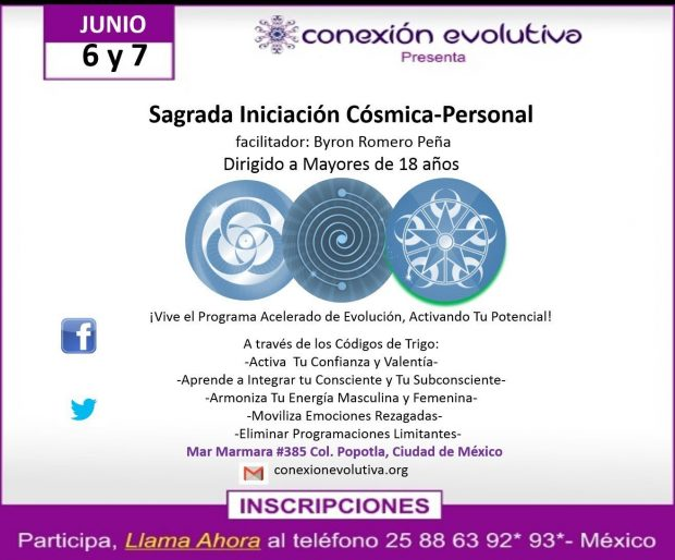sagrada iniciación cósmica personal - conexión evolutiva