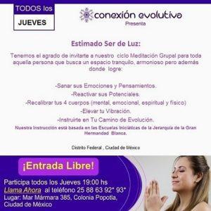 Meditaciones -  CONEXIÓN EVOLUTIVA