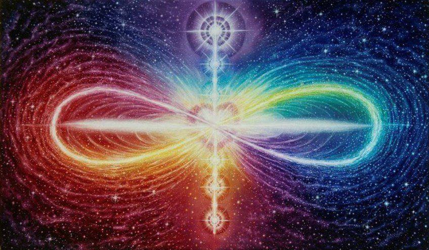 Energía_del_amor_corazón con el símbolo del infinito