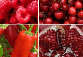 21 beneficios de la fruta y verdura de color rojo