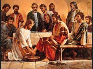 Jesus y discipulos