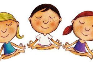 Meditación de los niños con las hadas y las sirenas