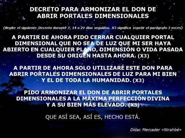 """DON  -stargate3 puertas1 -  Abrir Portales Dimensionales: Explicación y Armonización por Dídac Mercader """"Nirahbé"""""""