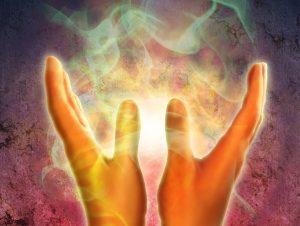 energía entre manos - sanación