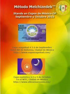 Flyer Stands - Más información sobre el Método Melchizedek en Latinoamérica y España