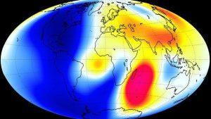 campo magnético de la tierra