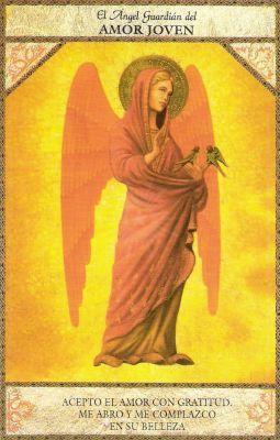 tarot angel del amor joven