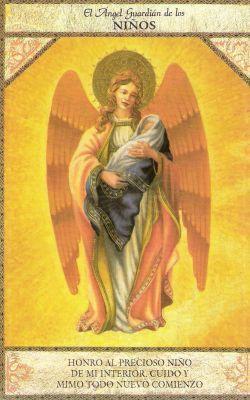 ángel de los niños