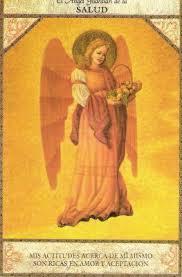 tarot angelico angel de la salud.