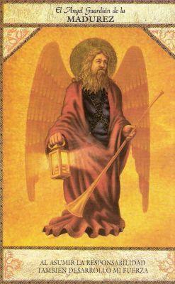 tarot angelico angel de la madurez