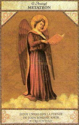 Tarot angelico, metatron