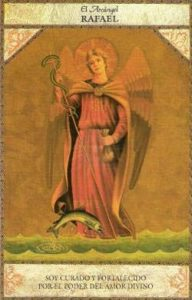 tarot angelico arcangel rafael