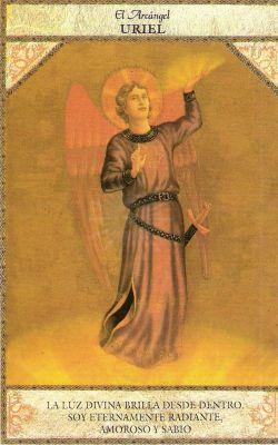tarot angelico arcangel uriel
