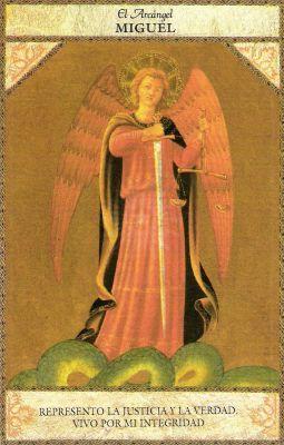 tarot-angélico arcángel miguel.