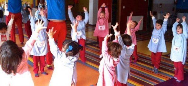 yoga y niños
