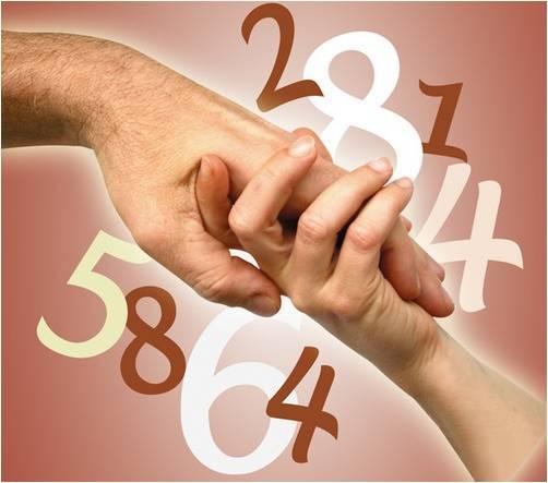 La numerologia del 8 en compatibilidad.