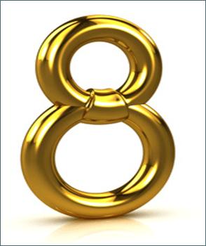La Numerologia del 8 en finanzas