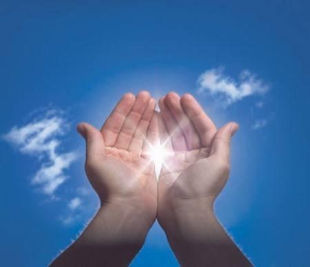 manos con energía - reiki