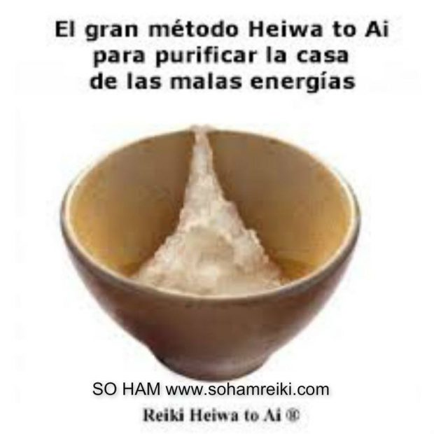 REIKI HEIWA TO AI  -limpiar energía en casa