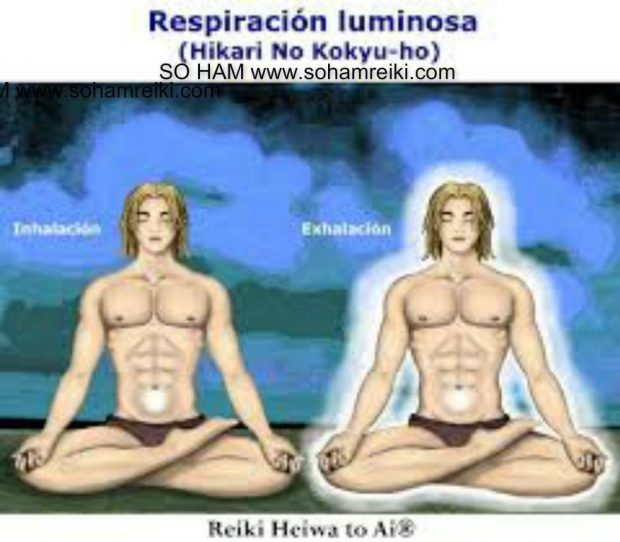 REIKI HEIWA TO AI  - respiración luminosa