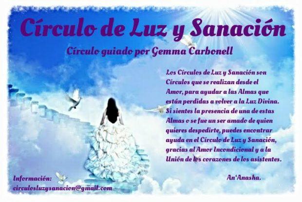 círculos de luz y sanación Gemma Carbonell