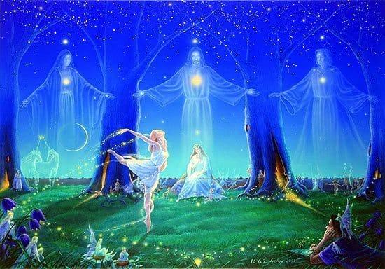 La gran hermandad blanca unidos por una misma energía