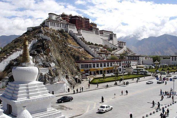 Lugares sagrados, Templo de potala en Lhasa