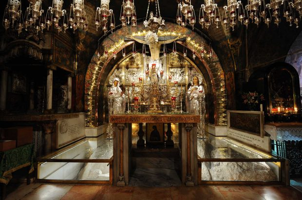Lugares Sagrados. La iglesia del santo sepulcro