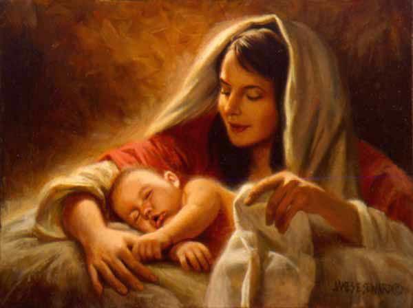 Navidad con Jesucristo niño Dios
