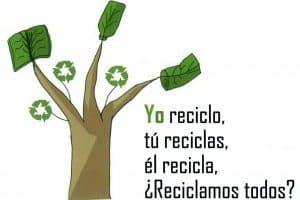 El reciclar y su acción sobre la economía