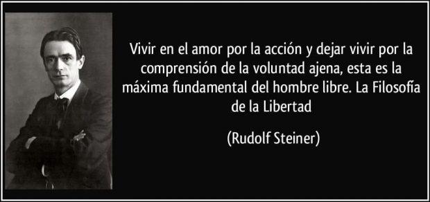 Rudolf Steiner frases