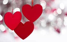 treses de corazones