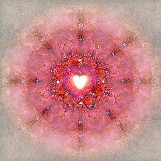 corazón rosa - ser interior