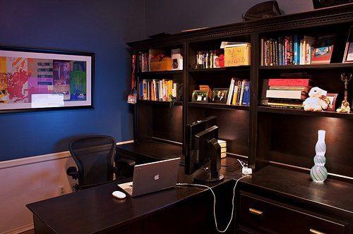 El color azul aporta frescura, tranquilidad y atrae buenas energías.