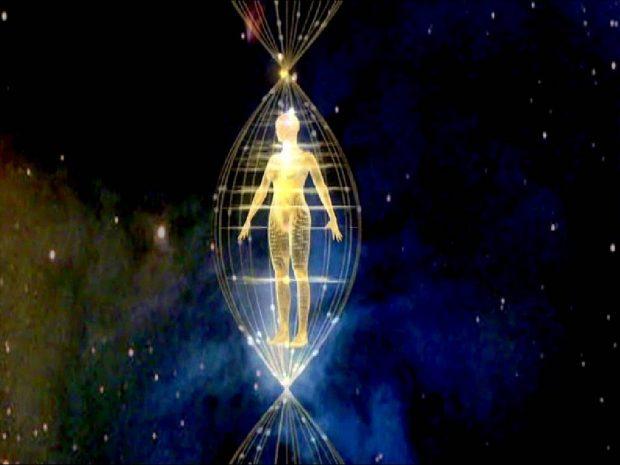 Energía espiritual Hermosa