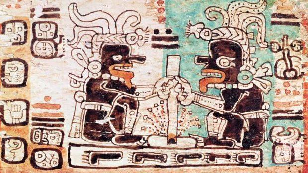 Los primeros jeroglíficos mayas reconocibles datan del siglo III a.C.