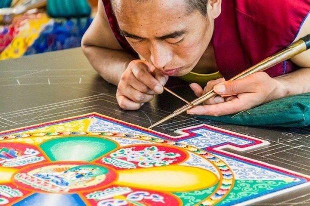 Mándala Tibetano conexión espiritual