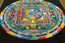 Mándala Tibetano la esencial al dibujar