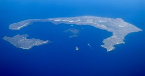 Santorini son los restos de la Atlantida