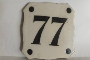 Significado del número 77, sueños