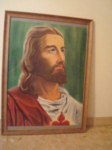 Imagen de Jesús en un sueño