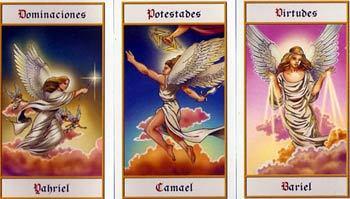 Tarot angélico ángeles que buscan darte la luz