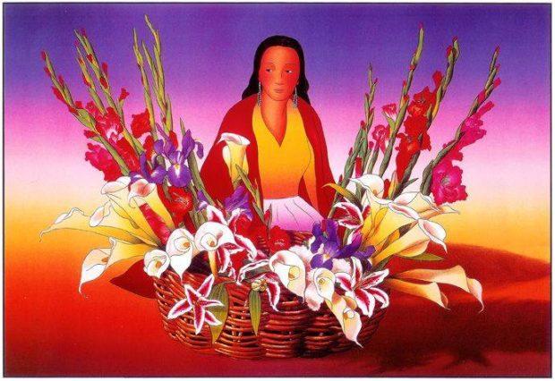 La puerta de la belleza - madre divina