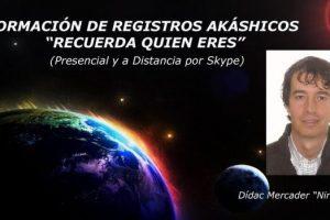 """Formación de Registros Akáshicos """"Recuerda Quien Eres"""" Presencial y a Distancia 2016"""